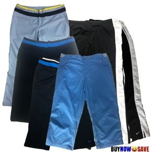 Nike Lot of 6 M Straight Cropped Capri Ankle Pants